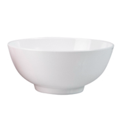 RYNER MELAMINE NOODLE BOWL 200mm WHITE