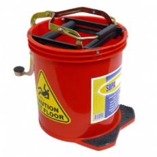 MOP BUCKET RED 16Ltr