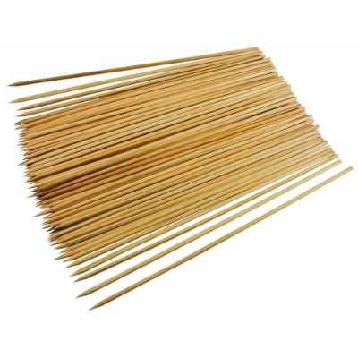 SKEWERS BAMBOO 10in 25cm 100PK