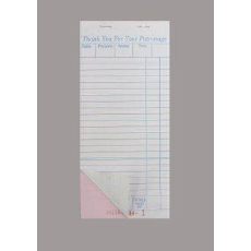 DOCKET BOOK LARGE DUPLICATE C/LESS 50 PAGES 10PKT