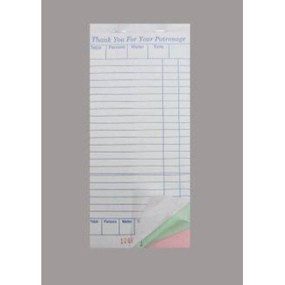 DOCKET BOOK LARGE TRIPLICATE C/LESS 50 PAGES 10PKT