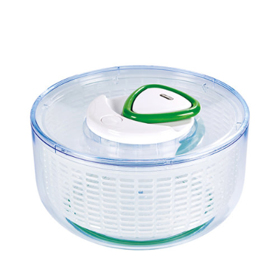 ZYLISS EASY SPIN SALAD SPINNER CLEAR 26cm