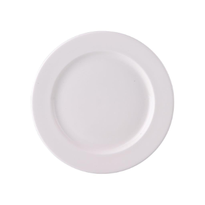 ASCOT BONE PLATE 240mm RIM SHAPE