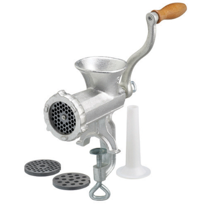MEAT MINCER No 8 WITH 3 BLADES 22cm