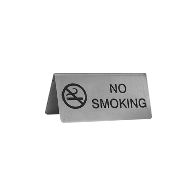 NO SMOKING S/S
