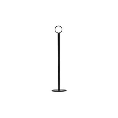 TABLE NUMBER STAND 30cm BLACK HEAVY BASE