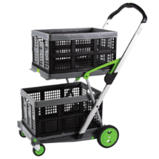 CLAX FOLDING CART 890x550x1030 mm WITH ONE BASKET