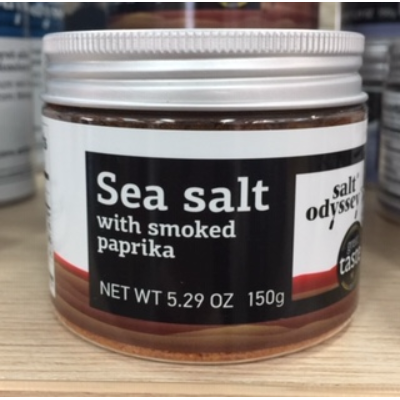 SALT ODYSSEY SMOKED PAPRIKA SEA SALT 150g
