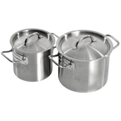 SUPERIOR SAUCEPOT H/DUTY 5LTR 200X160mm S/S 18/10