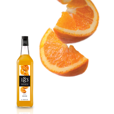 MAISON ROUTIN 1883 ORANGE SYRUP 1ltr BOTTLE