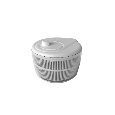 FRESH SALAD SPINNER 25cm WHITE